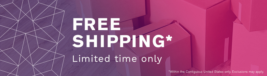 Free Shipping - $0 Limited Time