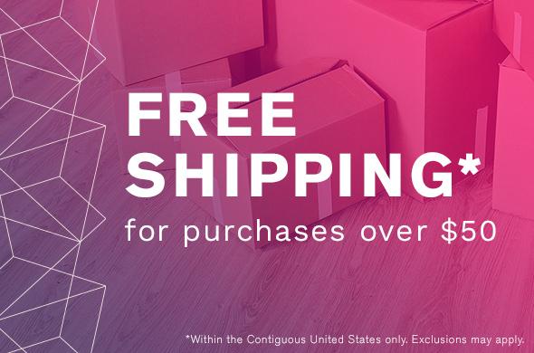 Free Shipping - $50