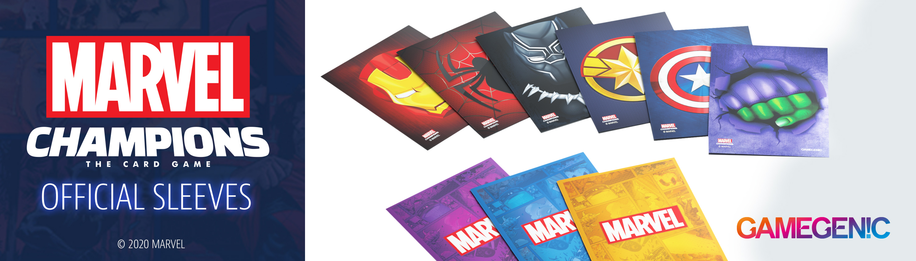 G1009x Marvel Card Sleeves