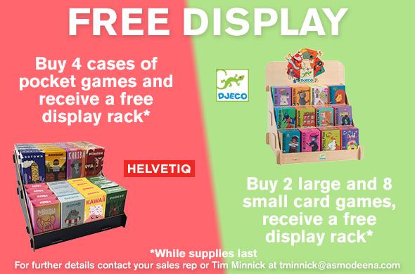 Helvetiq-Djeco Free Display