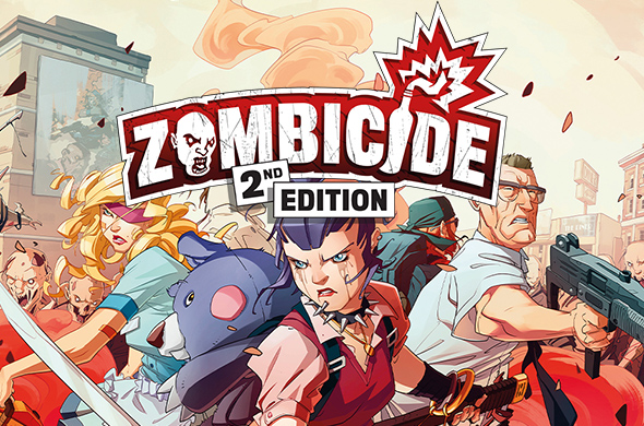 ZCD001 Zombicide 2nd Edition
